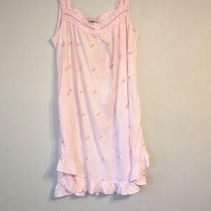 ADONNA Cotton Sleeveless Night Gown
